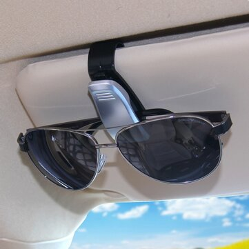 Car Glasses Clip Card Clips Auto Vehicle Portable Eyeglassees Holder Accessories