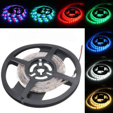 3M DC12V 14.4W 180 SMD 3528 Waterproof Red/Blue/Green/White/Warm White/RGB Flexible LED Strip Light