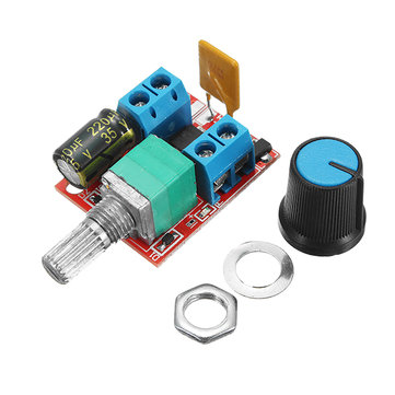 3Pcs 5V-30V DC PWM Speed Controller Mini Electrical Motor Control Switch LED Dimmer Module