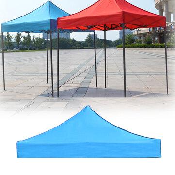 Buy 3x3m 420D Oxford Camping Tent Top Cover Awning Top Cover Waterproof UV Protection Garden Patio Tent Sunshade Canopy with Litecoins with Free Shipping on Gipsybee.com