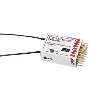 मोटीव-आरसी आर 8 एसबी 2.4 जी 9 सीएच 980 9915 D8 X9D 932 9 766 डीजेटी एक्सजेटी ट्रांसमीटर के लिए संगत टेलीमेट्री रिसीव