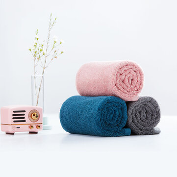 ZANJIA Cotton Towel Strong Water Absorption Towel 100% Cotton 5 Colors Bath Towel
