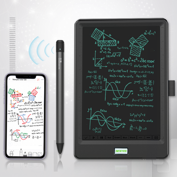 NeWYes SyncPen Cloud Pen Smart Writing with 10 inch LCD Synchronization Writing Tablet Intelligent Offline Storage and Online Update Handwriting Board Online Teaching Instant Handwriting Synchronization