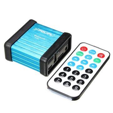 SANWU®ワイヤレスBluetoothオーディオレシーバーデコードボックスプリアンプアンプ(電源分離プロセスおよびリモートコントロール付)