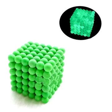 216 PCs 5mm Magia Forte Fluorescente Buck Ball Criativo Imanes Magnética Stress Reviver Brinquedos Com Caixa