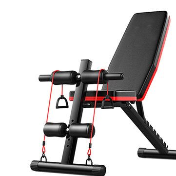 5 in 1 Folding Home Dumbbell Sit Up Stool Adjustable Ab Muscle Training Board Sport Fitness Exercise Tools