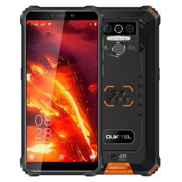 OUKITEL WP5 nincs Global Version 5.5 inch IP68 or IP69K Waternincsof 8000mAh Android 10 13MP Triple Rear Camera 4GB 64GB MT6762D 4G Smartphone