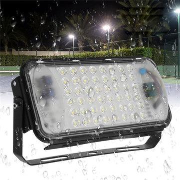 50W 48 LED Flood Spot Light Vattentät Utomhus Garden Security Landskapsljus AC90-260V
