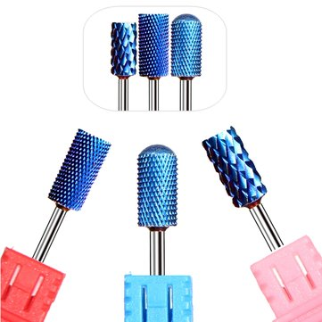 3 Styles Electric Nail Drill Machine Coated Carbide File Drill Bit Nail Art Manicure Pedicure