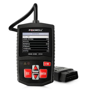 Foxwell NT201 OBD2 Auto Scanner Automotive OBD OBDII Engine Fault Code  Reader Diagnostic Tool