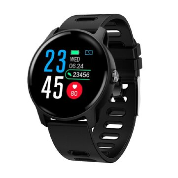 Bakeey S08 IP68 Waterproof Dial Face Change Wristband Blood Pressure and Oxygen Monitor Sport Tracker Smart Watch