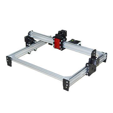 लेजर मॉड्यूल के बिना मानक 65x50 सेमी लेजर उत्कीर्णन मशीन DIY मार्कर प्रिंटर सीएनसी उत्कीर्णन