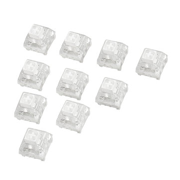 10Pcs Kailh BOX White Switch Keyboard Switches for Mechanical Gaming Keyboard