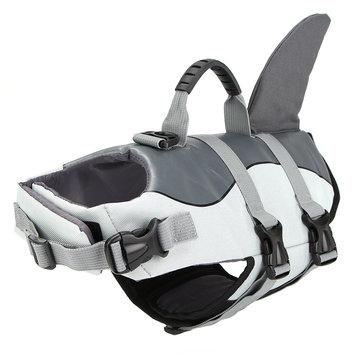 Float Pet Life Jacket Dog Lifesaver Safety Shark An toàn Vest bơi