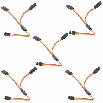 5PCS Amass 15cm Y Servo Cable Lead Splitter For JR Spektrum HITEC