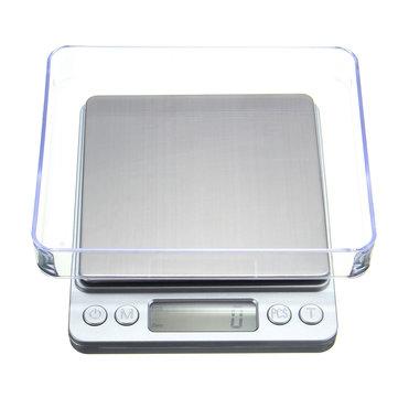 1000g/0.1g Mini LCD Digital Pocket Scale Jewelry Weight Electronic Balance Gram