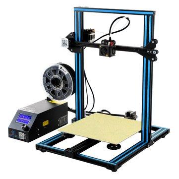 Creality 3D® CR-10 Mavi DIY 3D Yazıcı Kit 300 * 300 * 400mm Baskı Boyutu 1.75mm 0.4mm Nozul