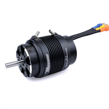 Surpass Hobby ROCKET 5682 Brushless Motor With 56s Aluminum Alloy Water Cooling Suit Power Set For 160cm Long Rc Boat Model Ship Parts.