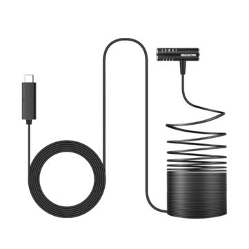 LEDISTAR Microphone Double capacitor for DJI OSMO Pocket/Type-C Plug Phone
