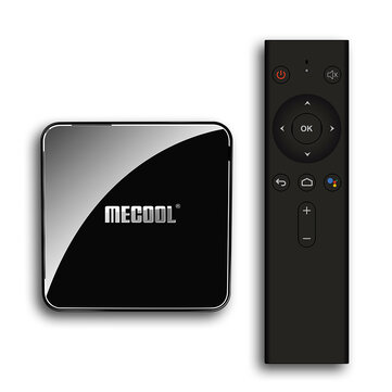 Mecool KM3 ATV Google Certificated S905X2 4GB LPDDR4 64GB Android 9.0 5G WIFI BT4.0 Voice Control TV Box