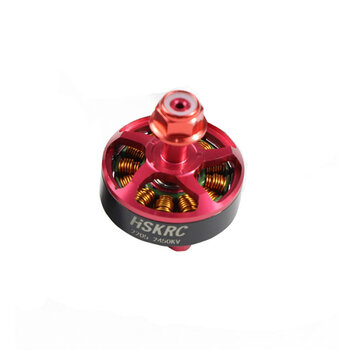 HSKRC 2205 2450KV 3-4S Brushless Motor 5mm Mounting Hole for RC Drone FPV Racing