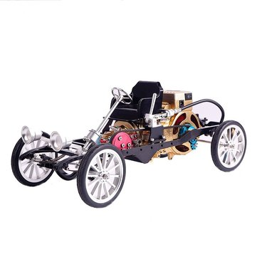 $330 for Teching Car Model Single Cylinder Engine Aluminum Alloy Model Gift Collection Toys