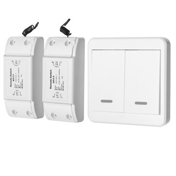 1/2Way Lamp Light Wireless Remote Control Switch Receiver Transmitter ON/OFF Switch Controller