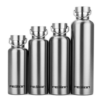 500ml~1000ml Portable Stainless Steel Thermos Bottle Water Cup Vacuum Bottle Sports Outdoor Travel