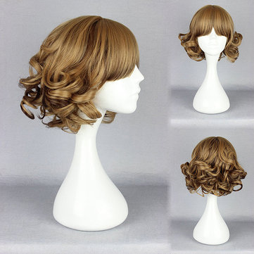 Cute High-Temperature Resistance Synthetic Cosplay Costume Hair Wig Animation Hairstyle