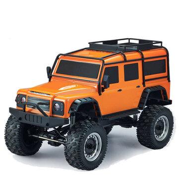 Ganda Eagle E328-001 1/8 2.4G 4WD Rc Mobil Rock Crawler Climbing Kendaraan w / LED Light Model RTR