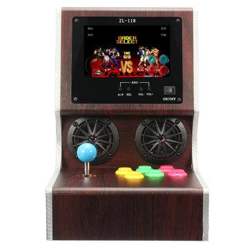 7 tums skärm 4G Memory Mini Arcade Spelkonsol Support E-bok TXT TF Card