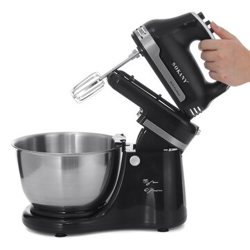 Buy SOKANY Electric Stand Mixer Automatic Cream Dough Food Batter Beater Egg Blender with 8 on Gipsybee.com