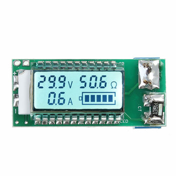18650 26650 Lithium Li-ion Battery Tester LCD Meter Voltage Current Capacity