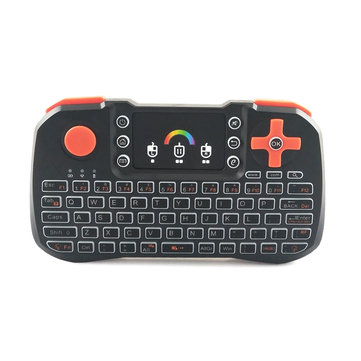 TZ10 touch screen MINI keyboard remote control Air mouse