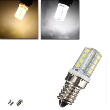 E14 b15 e12 3.5w 200lm smd2835 32 LED lampadina del cereale della luce bianca calda domestica 220V AC bianco