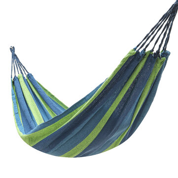 Buy Single Person Hanging Hammock Garden Outdoor Camping Chair Swing Bed Hammock Bed with Litecoins with Free Shipping on Gipsybee.com