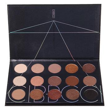 15 färger Matt Shimmer Eyeshadow Palette Makeup Kosmetisk ögonskuggsats