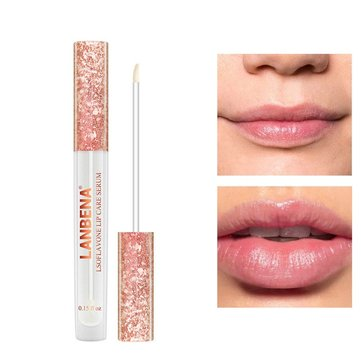 LANBENA Lip Filler Plumper Serum Makes Lips Bigger 0.15oz Lip Care Essence