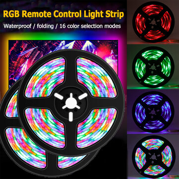 0.5m/1m/2m/3m RGB LED Lamp 2835 SMD Light Bar Hotel TV Backlight String Light Waterproof with Control Remote