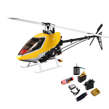 JCZK 450 DFC 6CH 3D Flying Flybarless RC Helicopter Super Combo