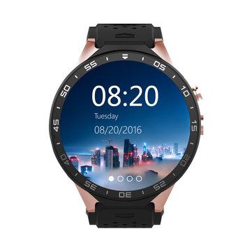 KINGWEAR KW88 1.39 pulgadas MTK6580 Quad Core 1.3GHZ Android 5.1 3G Smart Watch