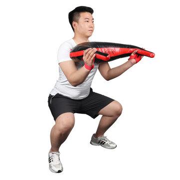 5-25kg Space Leather Sandbag Weightlifting Bag Sport Gym Fitness Power Bag Exercise Tools