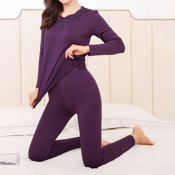 Long Sleeve Warm Shitsuke Homewear Pajama Set Sleepwear