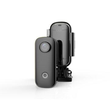 SJCAM C100+ WiFi 2.4GHz 2K HD Mini Thumb Camera H.265 Waterproof Case Action Sport DV Camcorder Free Hands Cam