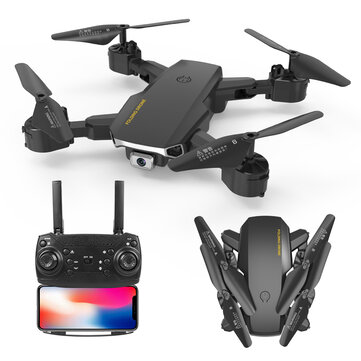 S60 Mini Drone WIFI FPV with 4K HD Dual Camera Optical Flow Positioning 15mins Flight Time Foldable RC Quadcopter Drone RTF