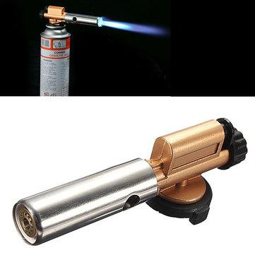 Outdoor Portable Picnic BBQ Gas Welding Torch Jet Flame Maker Lighter Butane Burner Nozzle