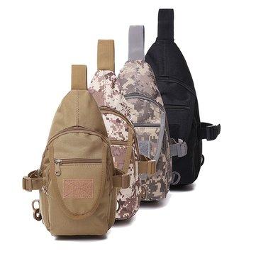 Mens Tactical Shoulder Bag Backpack Sling Chest Bag Assault Pack Messenger Bag