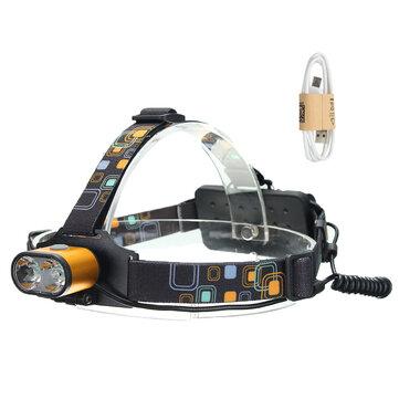 XANES 1500 Lumens T6 Headlamp Waterproof Hiking Fish Bike Lamp