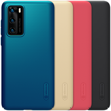 Buy Nillkin Frosted Anti-Fingerprint Shockproof PC Hard Protective Case for Huawei P40 with Litecoins with Free Shipping on Gipsybee.com