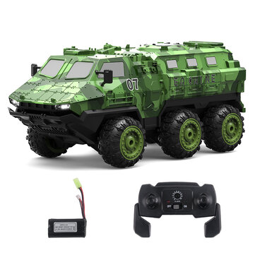 Eachine EAT07 1 or 16 2.4G 6WD Armored RC Car Full Proportional Control Vehicle Models